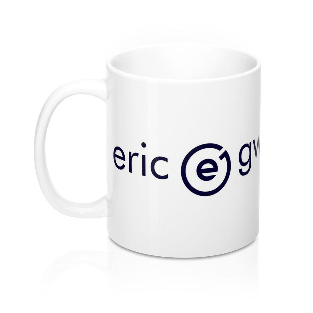 White Logo Mug 11oz