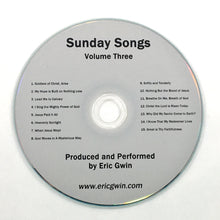 Load image into Gallery viewer, Sunday Songs, Volume Three - Physical CD
