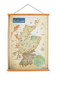The Whiskies of Scotland poster