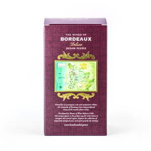 The Wines of Bordeaux 500-piece jigsaw puzzle box back