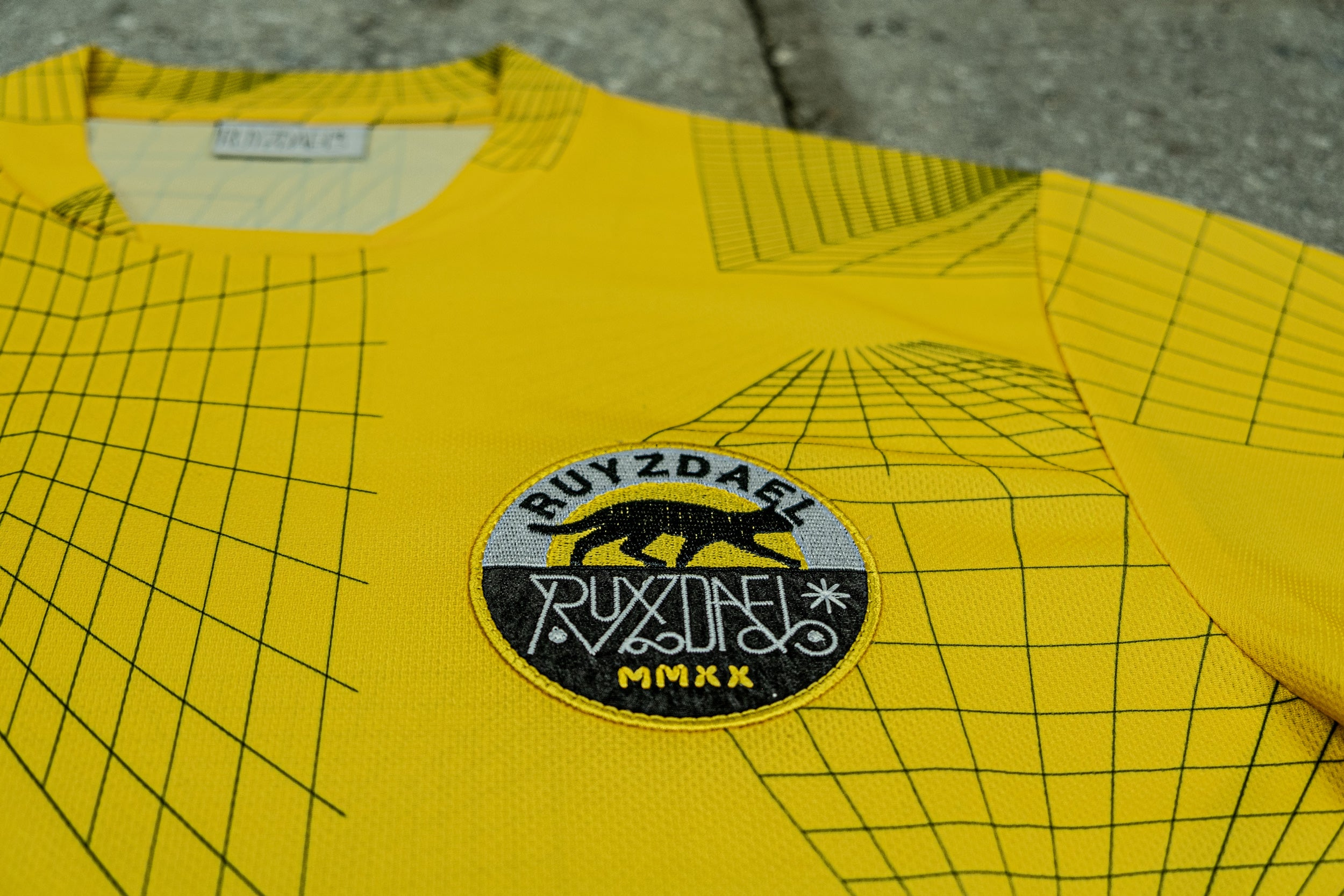 Writers On Wax Package Album + Football Jersey Yellow Maze