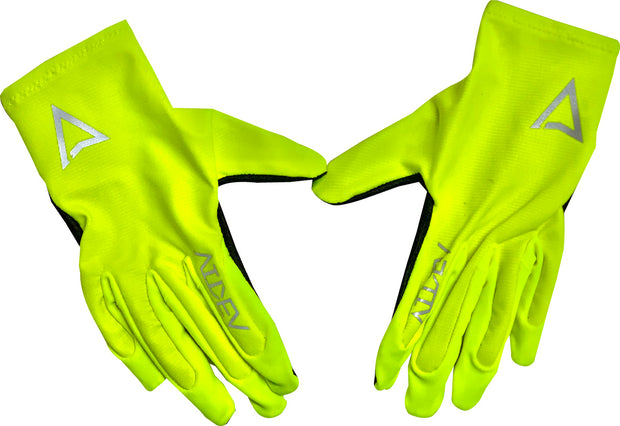 Pure Moto Gloves Neon
