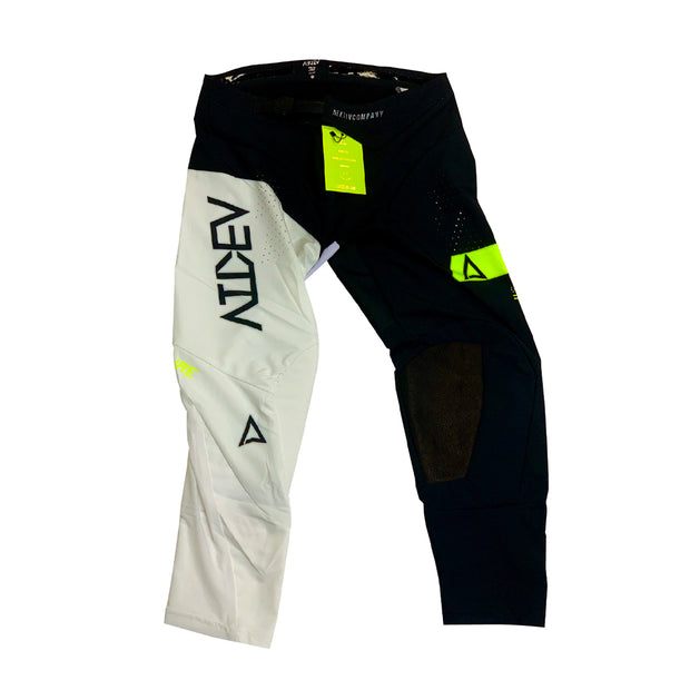 Pure Moto Pants Black/White/Neon