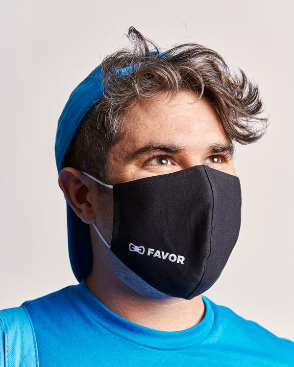 Favor Face Mask w/Filter Pocket