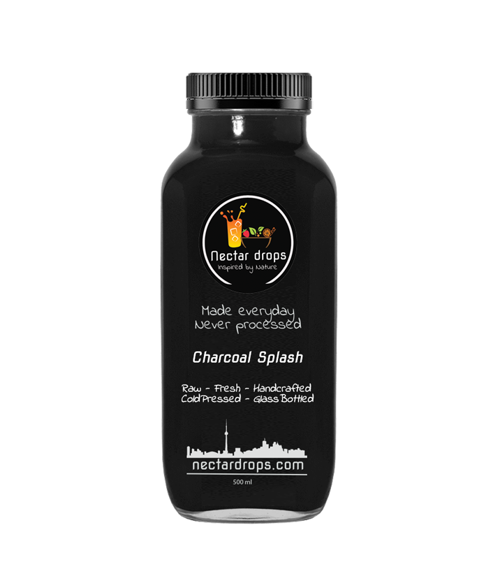 Activated Coconut Charcoal Splash