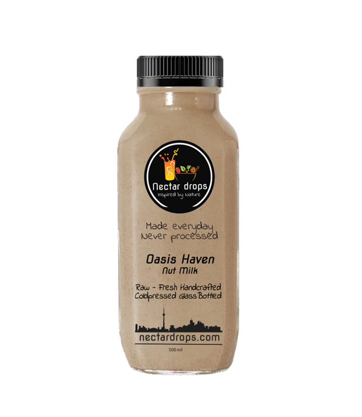 Almond Dates Oasis Haven Nut Milk