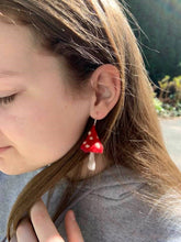 Load image into Gallery viewer, Forest Toadstool Earrings