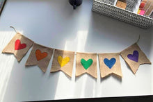 "Load image into Gallery viewer, ""Love is Love"" Bunting"