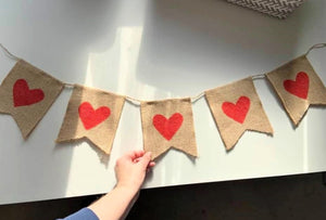 """Love Rules"" Bunting"