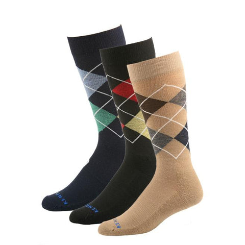 KentWool 19th Hole Collection Argyle Golf Sock