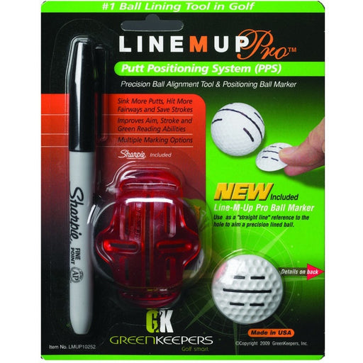 GreenKeepers Line M Up PRO Putt Position System (PPS)