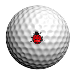 GolfDotz - Ladybugs (Personalize Your Golf Ball)