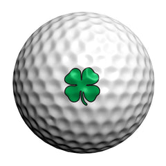 GolfDotz - Lucky Clovers (Personalize Your Golf Ball)