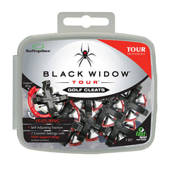 Black Widow Tour Cleats - 3 insert options (choose one)