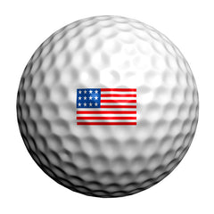 GolfDotz - USA Flag (Personalize Your Golf Ball)