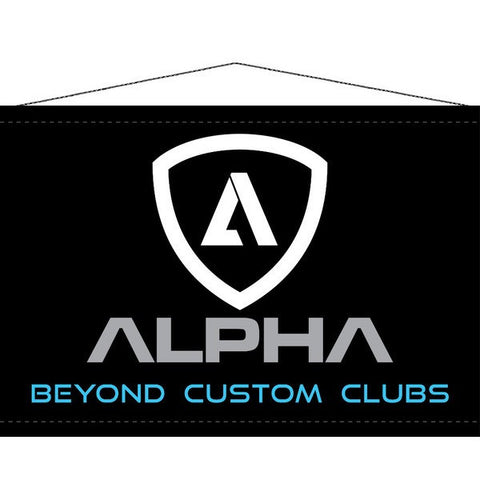 "Alpha ""Beyond Custom Clubs"" Banner"