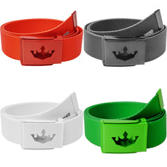 Meister Player Golf Web Belt (Solid Colors)
