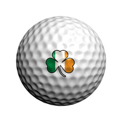 GolfDotz - Irish Shamrock (Personalize Your Golf Ball)
