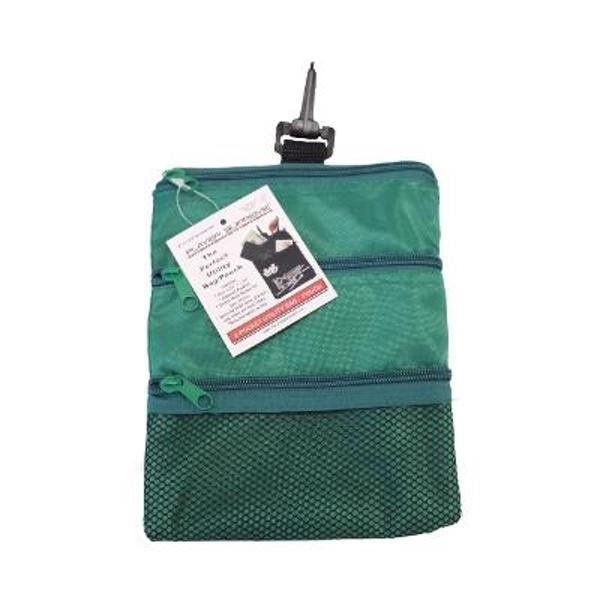 Golf Multi-Pocket Tote Hand Bag and Valuables Pouch