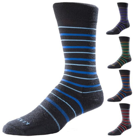KentWool 19th Hole Collection New Stripes Golf Sock