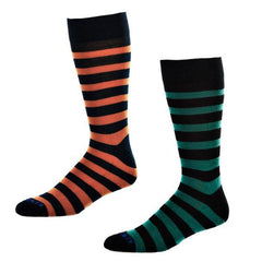 KentWool 19th Hole Collection Wide Stripes Golf Sock