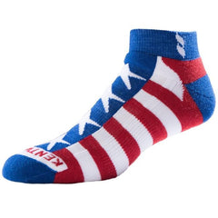 KentWool Women's USA Tour Profile Golf Sock - Stars & Stripes