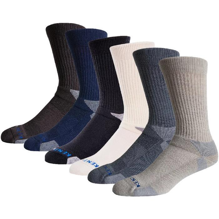 KentWool Mens Classic Crew Golf Sock
