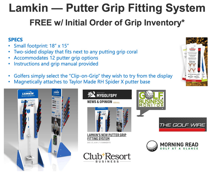 Lamkin Putter Grip Fitting System 2020/21 Retail Kit (*Requires minimum purchase of Lamkin Putter Grips)