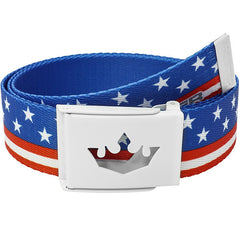 Meister Player Golf Web Belt - USA Flag