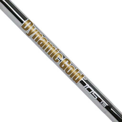 "True Temper Dynamic Gold 105 Iron Steel Shaft - 0.370"" Parallel Tip"