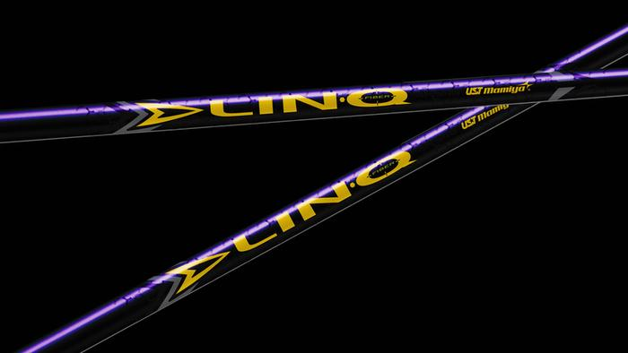 NEW UST Lin-Q Purple Wood Shafts