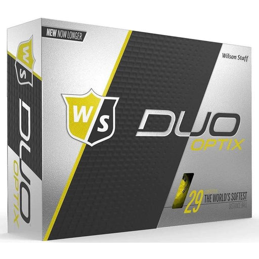 Wilson Staff DUO Soft Optix (12 pack) Golf Balls - Yellow