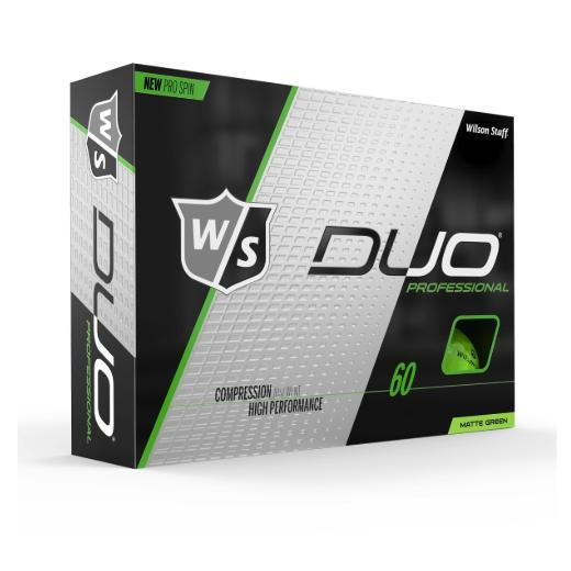Wilson Staff DUO Professional (12 pack) Golf Balls - Green