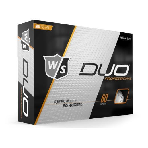 Wilson Staff DUO Professional (12 pack) Golf Balls - White
