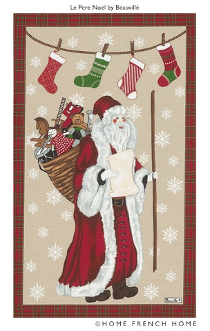 Tea Towel - Le Père Noël