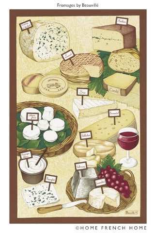 Tea Towel - Le Fromage