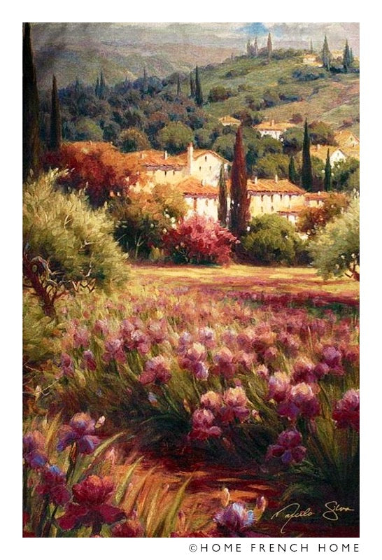 Wall Tapestry - Tuscan fields