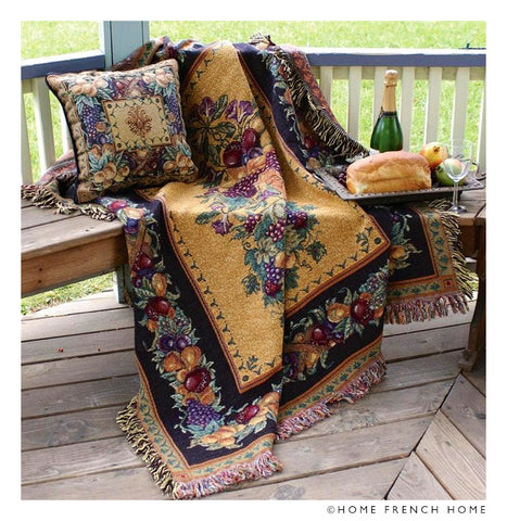 Tapestry Throw - Summer Fruit