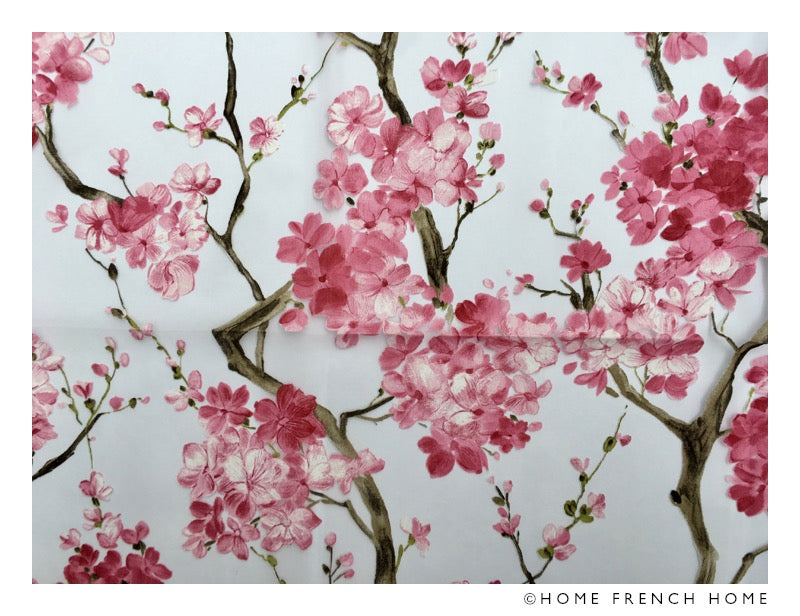 Organza printed tablecloth - Cherry Blossom