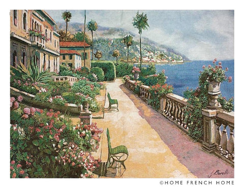 Wall Tapestry - Summertime on the Amalfi Coast