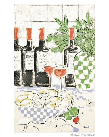 Tea Towel - Bandol