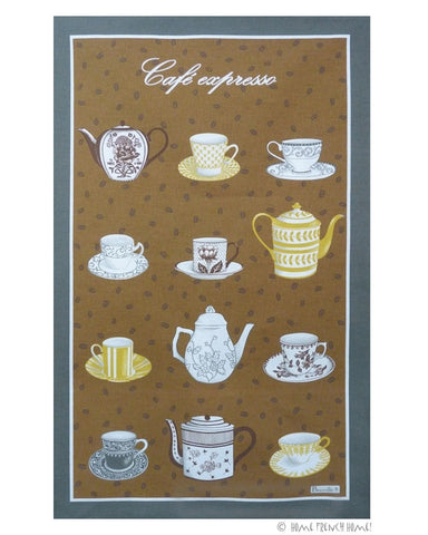 Tea Towel - Le Café