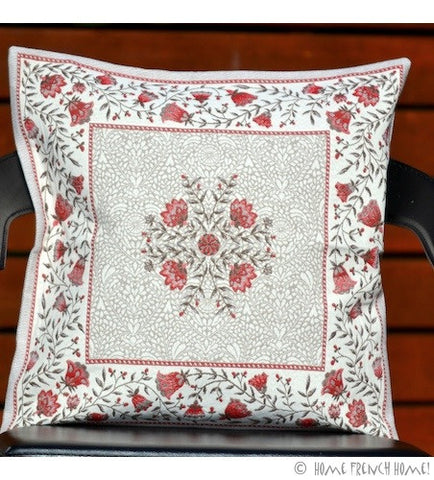 Cushion Cover - Millau Red