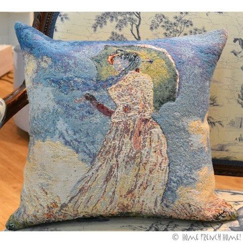 Cushion Cover - Monet Femme à l'Ombrelle