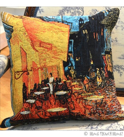 Cushion Cover - Van Gogh Café Terrace at Night
