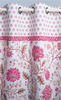 Curtain - Montespan pink