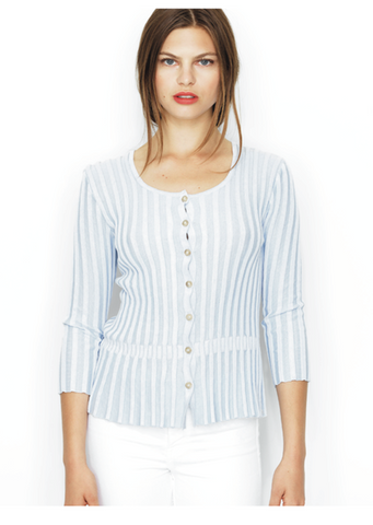 OREGAN cardigan - sky blue