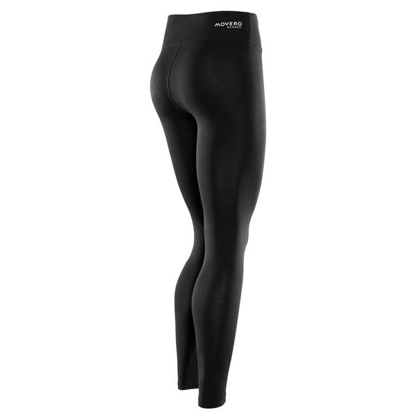 The only pair of workout leggings you'll ever need. Built for performance and silky-soft comfort, you'll forget you're wearing them. Movero´s contour bamboo tights hug your legs without losing shape. Flat stitching means zero chafe. We've made sure they aren't see-through so you can bend or squat in confidence. The wide waistband offers more support and doesn't ride down. So go ahead, wrap your legs in our luxurious contour bamboo. They'll thank you.