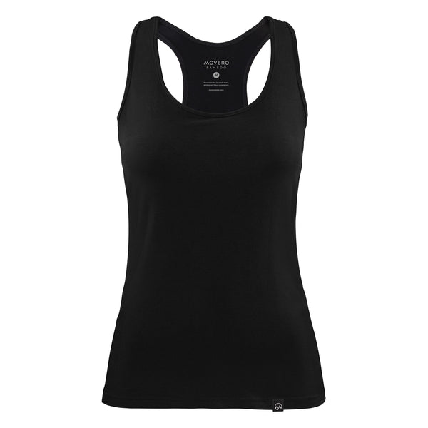 A timeless classic. Ladies, meet our silky soft, black bamboo vest. It is understated with a subtle ´M Bamboo´ icon on the back and premium woven label on the front. With our comfortable athletic-fit and zero chafe stitching, moving has never felt more natural. Throw on a coat, a pair of our contour leggings and sneakers, and you have yourself tomorrow's outfit. All this from a eco-friendly fabric.
