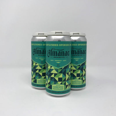 Almanac Beer Co Unfiltered Opinion India Pale Ale